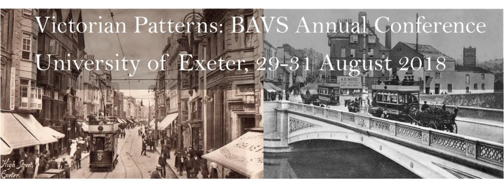 Read the call for papers for the BAVS 2018 conference at the University of Exeter.