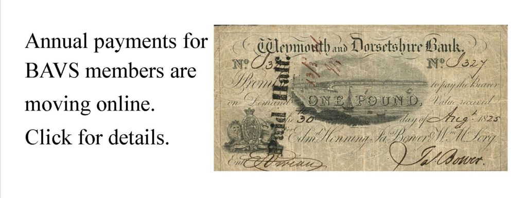 Membership dues can now be paid directly through the BAVS website